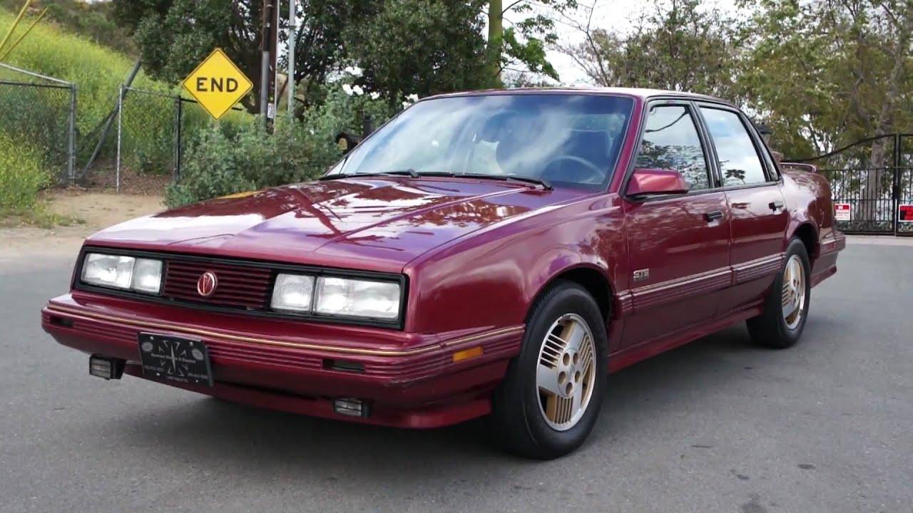 1989 pontiac 6000 ste awd 1 owner 85k miles 4x4 all wheel drive [ 1280 x 720 Pixel ]