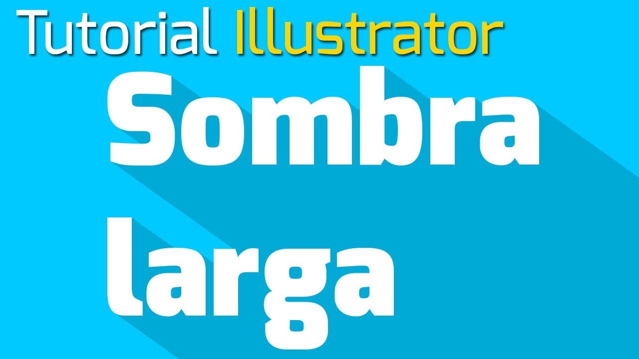 Illustrator Cmo crear sombras largas  YouTube