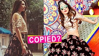 Hina Khan And Surbhi Chandna Caught In a Similar Dress!