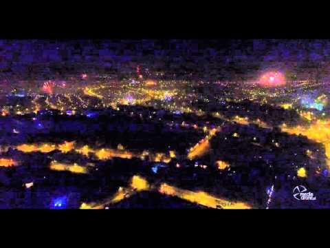 Sylwester 2015/2016 Będzin, New Year 2016 in Bedzin City, Poland, fireworks
