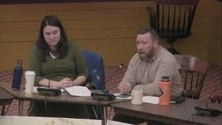 Main Street Master Plan Special Committee 1- 10- 2019