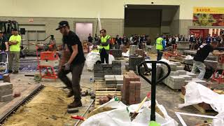 Video still for Paving Block Competition at the 2nd Annual New England Hardscape Expo