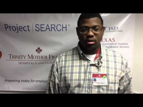 Project SEARCH at Trinity Mother Frances Hospitals and Clinics
