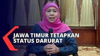 15 Pasien Positif Corona di Jawa Timur, Gubernur Khofifah Tetapkan Status Darurat Bencana Covid-19