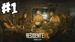 Resident Evil 7 Gameplay Walkthrough Part 1 Full Game Ending VII Let's Play Review PS4 Boss Fight