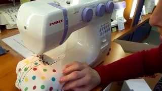 """Видео урок по швейной машине"""" Family"""" из Тулы самый классный для начинающих смотреть всем!"""