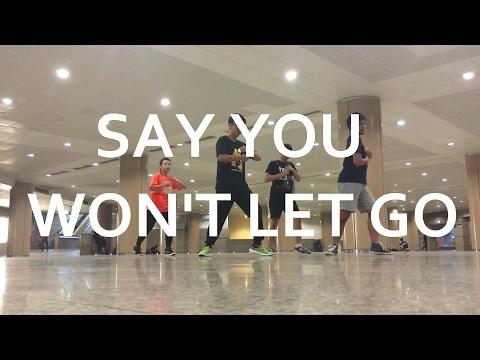 SAY YOU WON'T LET GO - James Arthur | Lyrical Hip Hop | Grandy Putra