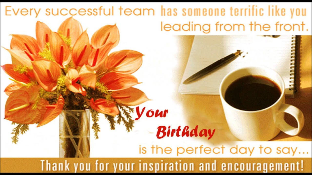 Happy birthday boss birthday wishes sms quotes message e happy birthday boss birthday wishes sms quotes message e greetings to boss m4hsunfo