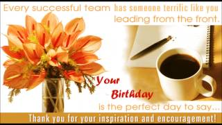 Video Happy birthday Boss, Birthday wishes, SMS, Quotes, message, E-greetings to Boss download MP3, 3GP, MP4, WEBM, AVI, FLV Agustus 2018