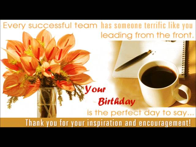 Happy Birthday Boss Wishes SMS Quotes Message E Greetings To
