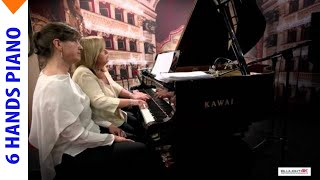 Piano six hands! - Carl Czerny Romanze - Expo 2015