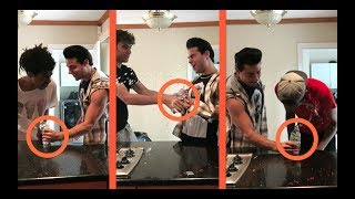 HILLARIOUS  WATER BOTTLE PRANK (Coby Persin)