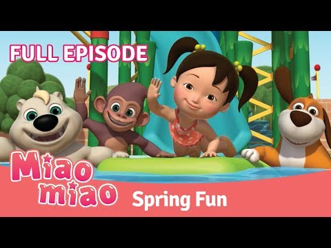 Miaomiao Spring Fun Episode | Cartoons for Kids & Chinese for Kids