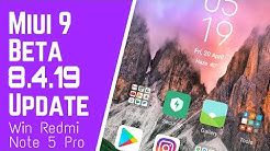 MIUI 9 8 4 19 Global BETA Weekly Update Full Changelog | NEW