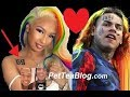Offset Sidechick Dating 6ix9ine Now, Tatted Name & Madly in LOVE! 💏 ViDEO Proof
