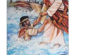 Jesus Walking On Water Christian Art
