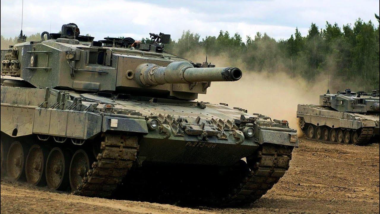 tanques leopard 2 del ejercito mejor tanque del mundo