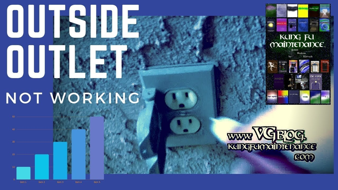 Outdoor Outside Exterior Electrical Outlet Not Working ~ No Power Reset    YouTube