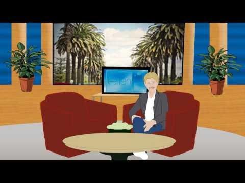 Ellen DeGeneres meets Woody & Buzz! ANIMATED
