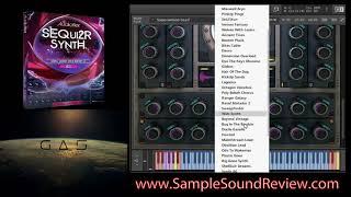 SEQui2R Audiofier Synth & GAS Audiowarp Synth DEMONSTRATION (Kontakt VST)
