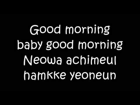 APink - Good Morning Baby Lyrics