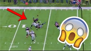 Jadeveon Clowney records SPECTACULAR interception to set up early TD vs Raiders (Playoffs 2016)