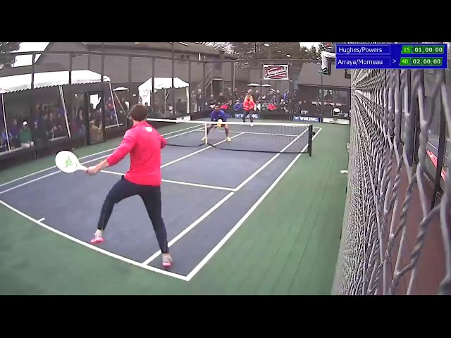 2018 Boston Open Mens Paddle Finals: Hughes/Powers vs. Arraya/Morneau