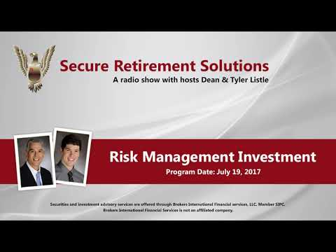 Risk Management Investment Portfolios - RADIO SHOW