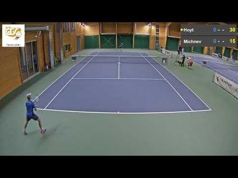 Petr Michnev vs  Evan Hoyt 8 11 2017 ITF Futures Milovice   muži