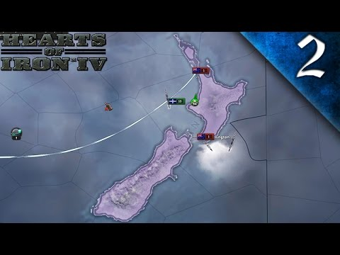 WAR WITH NEW ZEALAND! HEARTS OF IRON 4 AUSTRALIA EP. 2