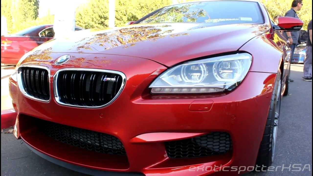 F13 BMW M6 Start-Up and Revs! (Irvine, CA) - YouTube