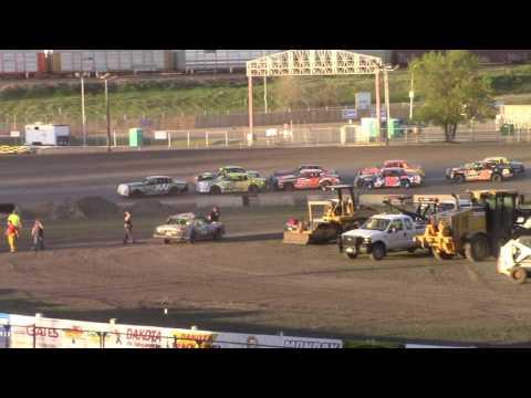 Nodak Speedway IMCA Hobby Stock A-Main (5/14/17)