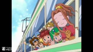 Digimon Adventure, season 1 ep. 54 / the most vivid scene