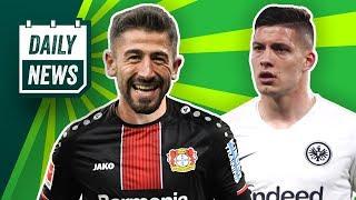 Frankfurt knapp raus, Chelsea vs. Arsenal im Finale! Demirbay zu Leverkusen! De Ligt- Deal platzt?