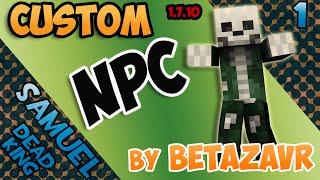 Гайд на мод Custom NPC 1.7.10 (Краткий обзор) #1