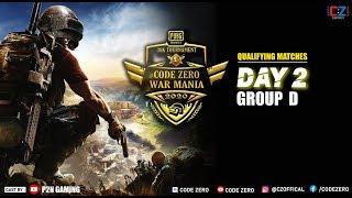 """CODEZERO WAR MANIA"" Qualifying Round Group-D"