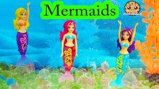 3 мої чарівні русалки друзів плавати, як магія у воді - Cookieswirlc іграшки грати відео