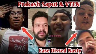 Balen On Prakash Saput & VTEN| Ease Dissed Nasty| EPR X UNIQ POET| HIPHOP SAVED MY LIFE| NEPHOP NEWS