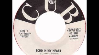 STEREOS - Echo In My Heart  / Tick Tack Toe - COLUMBIA & CUB 4-42626 - 10/62
