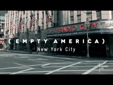 New York City Timelapse (Empty America)