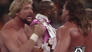 WWE Legends of WrestleMania - EXTRA Movie Theatre Cinemantics Ted Dibiase vs. Brutus Beefcake