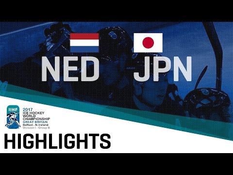 Netherlands - Japan | Highlights | 2017 IIHF Ice Hockey World Championship Division I Group B