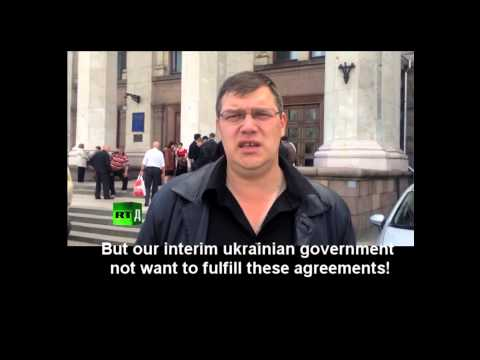 Attention! Ukrainian government kills ukrainian people!