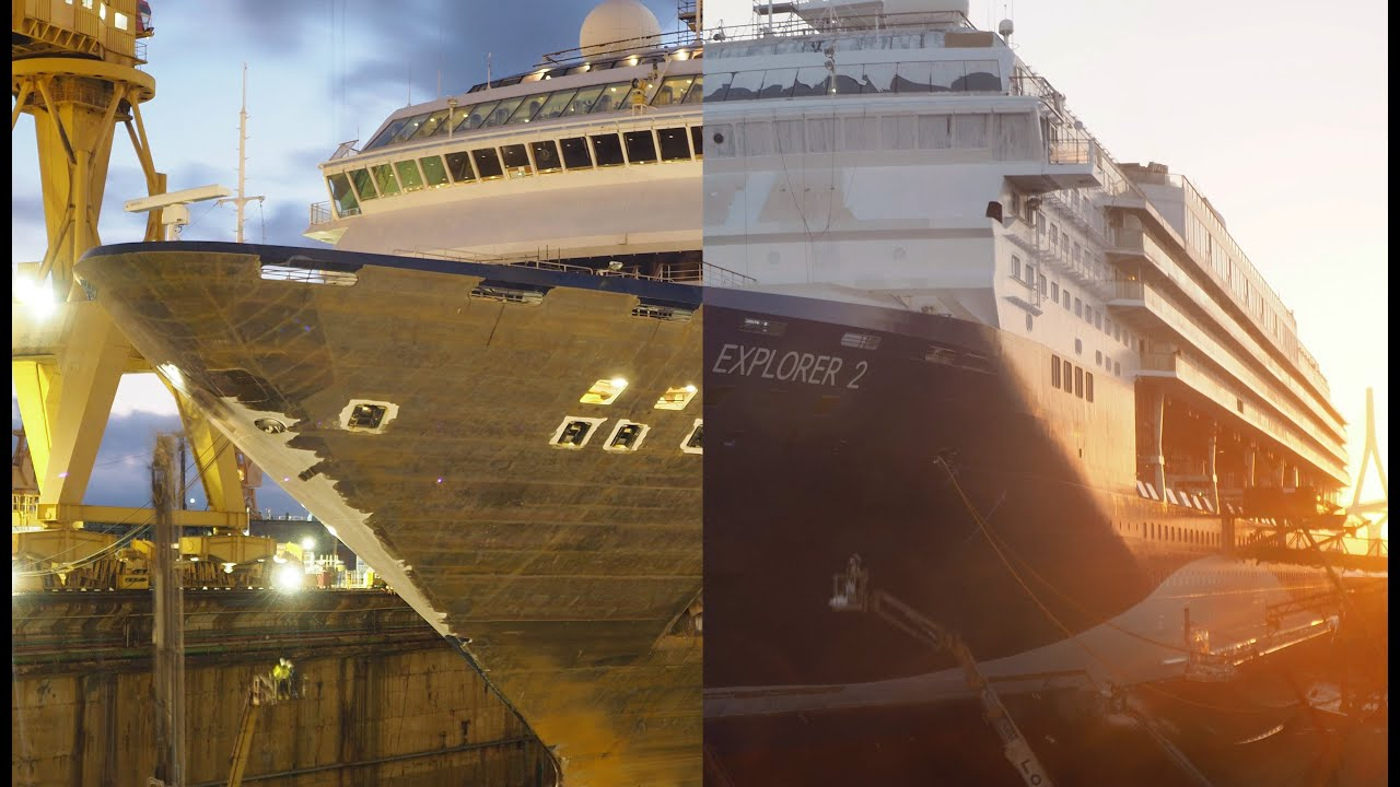 Marella Explorer 2 Cruise Ship Makeover – Time Lapse | Marella Cruises