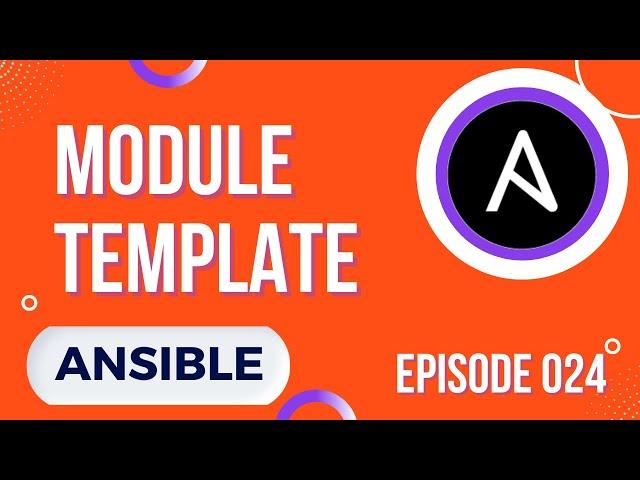 ANSIBLE -24. LE MODULE TEMPLATE : LES BASES, VARIABLES, LISTES, BOUCLES, ASTUCES...