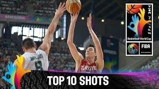 Top 10 Shots - 2014 FIBA Basketball World Cup