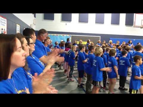 Ocean City Elementary School performs Stand Up Speak Up