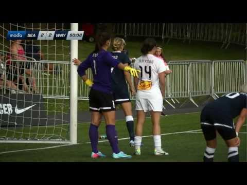 Seattle Reign FC vs. Western New York Flash - July 11, 2013