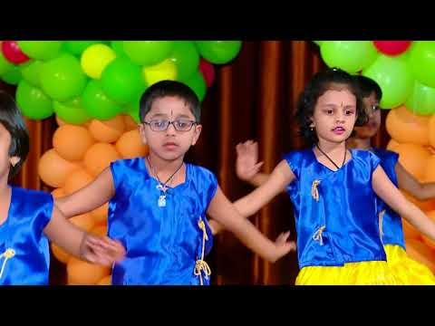 Deva shree ganesha dance performance by Kushi Playhome 2017-18