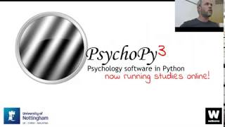 Launch of PsychoPy3 and Pavlovia.org